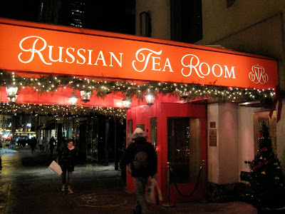 Russian Tea Room Christmas Menu