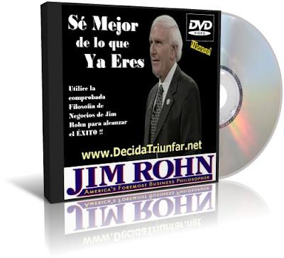 SÉ MEJOR DE LO QUE YA ERES, Jim Rohn [ VIDEO DVD ] – Utilice la comprobada Filosofía de Negocios de Jim Rohn para alcanzar el éxito