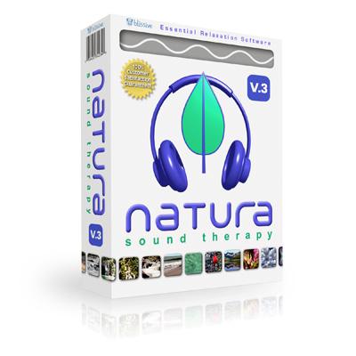 NATURA SOUND THERAPY – Completo software creador y mezclador de sonidos naturales para la relajación