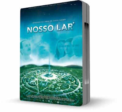 NUESTRO HOGAR (Nosso Lar) [ Video DVD + Libro ] – La vida en el mundo espiritual. Nuestro hogar es nuestra vida misma y el planeta tierra es solo un pasaje en ella