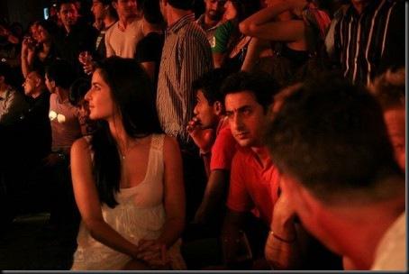 1Katrina Kaif in a White Short Dress at IPL after Nights party