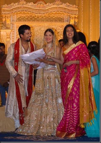 2 Rambha grand reception pictures