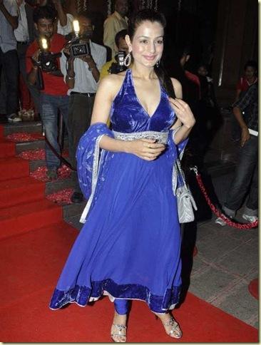 Stars_at_Fardeen_Khan_s_sister_Laila_Khan_wedding_reception_10_