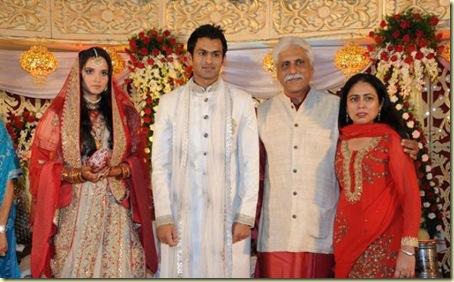 1Sania Mirza ,Shohib Malik  wedding reception pictures