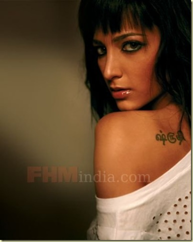 04 Shruti Haasan's FHM Magazine Scans