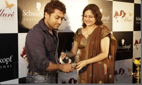 SURIYA INAUGURATES ALLURE - IMAGES5