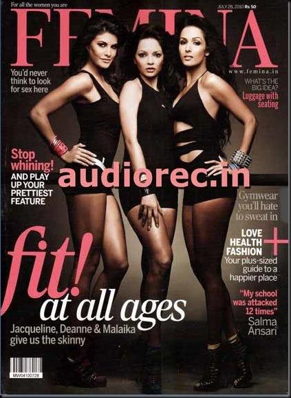 Jacqueline Deannye Malaika on Femina India magazine July 2010