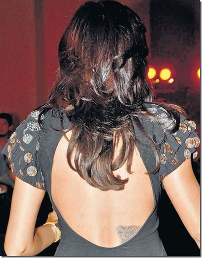 Sushmita-Sen-tattoo-on-her-back
