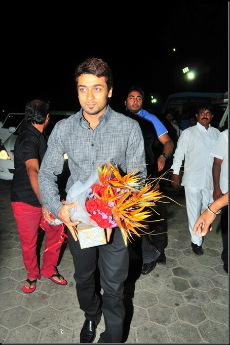 Suriya at Allu Arjun's wedding stills5
