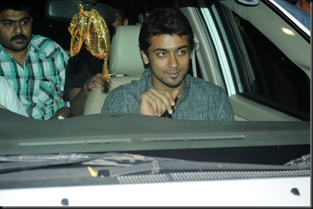 Suriya at Allu Arjun's wedding stills9