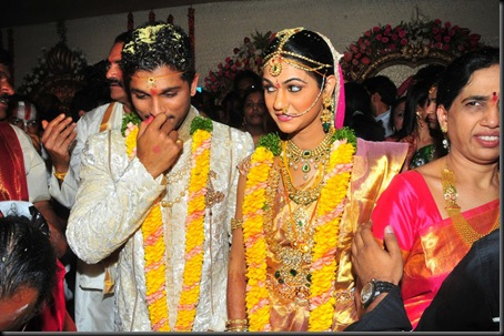 Allu Arjun Sneha Reddy wedding stills9