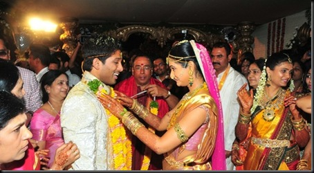Allu Arjun Sneha Reddy wedding stills13
