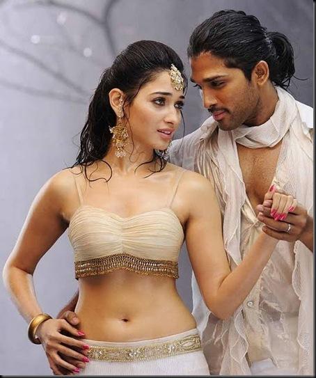 tamanna_bhatia allu arjun badrinath movie stills