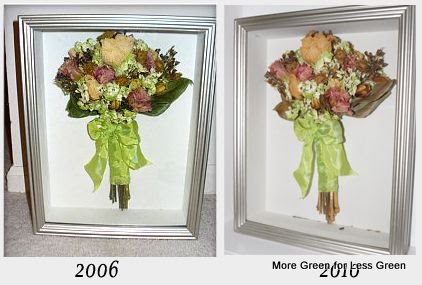 more green for less green diy preserved wedding bouquet critique 4 years later. Black Bedroom Furniture Sets. Home Design Ideas
