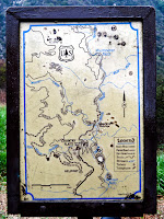 Map at Chantry Flats Photo
