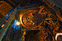 Ceiling Detail - Sanctuary of Truth Photo