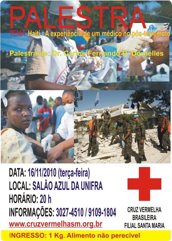 PALESTRA exp med militar haiti 112010
