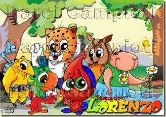 lorenzo e paisagem mais amigos