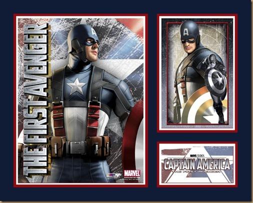 cartaz capitão américa