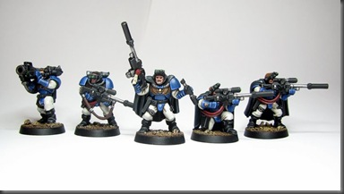 ultramarines scouts (front)