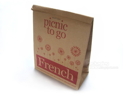 Waitrose Picnic to go Packaging