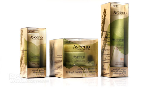 Aveeno Cosmetic Packaging