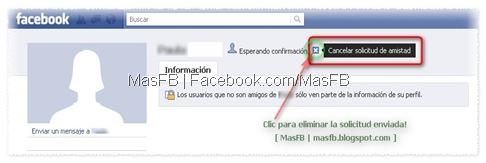 Eliminar Solicitudes Enviadas Facebook | MasFB