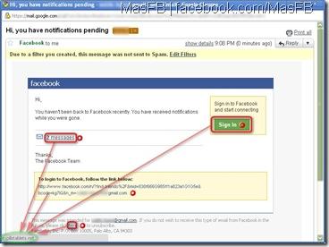 Phishing por Facebook | MasFB