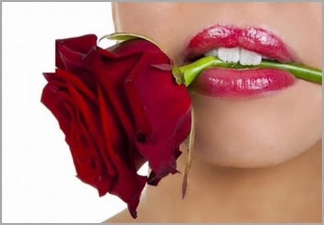 _rosa boca mujer rostro romanticas