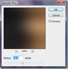 Gaussian blur screenshot