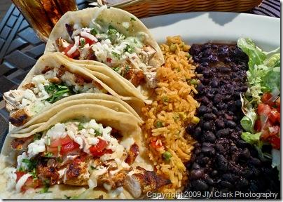 lunch - Baja Tacos