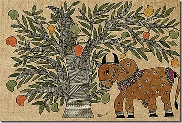 Punam Kaln-Holy Cow and Mango Tree
