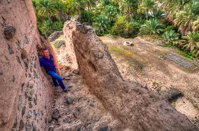 Steve at Al Nuway Fort Omman