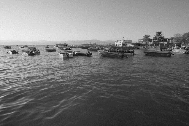 Boats in Aqaba Jordan-2
