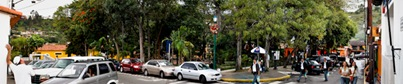 Plaza in El Hatillo