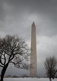 7 Washington Monument in the Snow-2