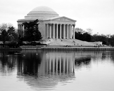 Jefferson Memorial Reflection-2