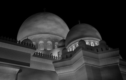 Grand Mosque at Night  (13 of 22)