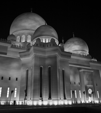 Grand Mosque at Night  (8 of 22)