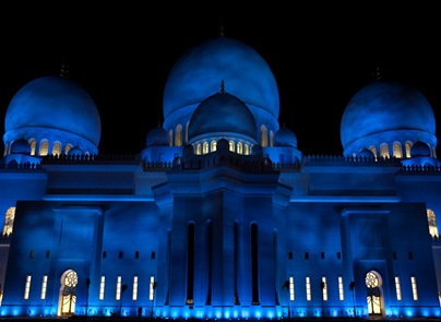 Grand Mosque at Night  (10 of 22)