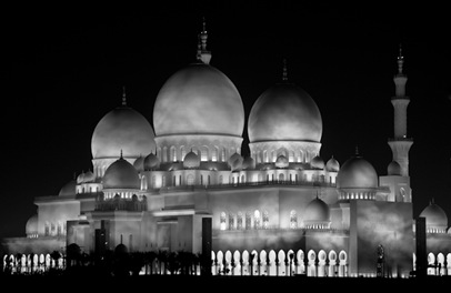 Grand Mosque at Night  (2 of 22)
