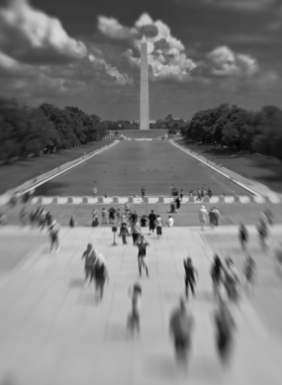 Washington Monument - blur-2