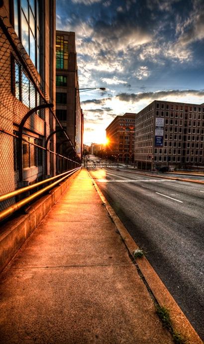 H Street Sunset
