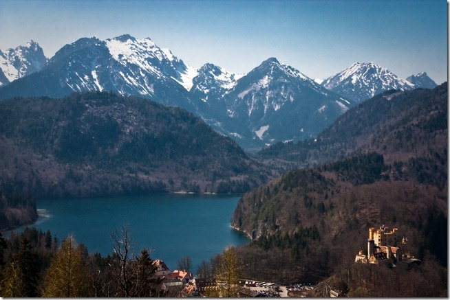 Mountain Lake View from Neuschwanstein Castle