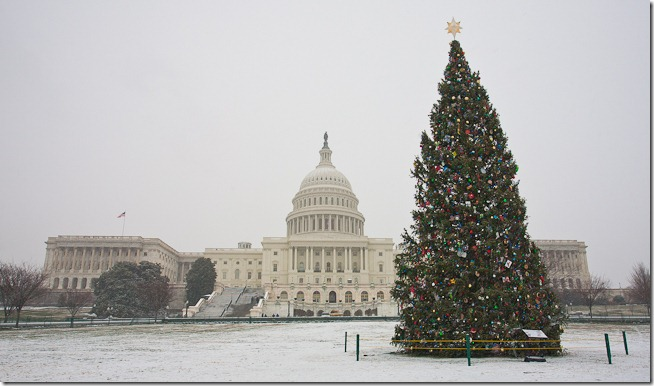 US Capitol at Christmas-1