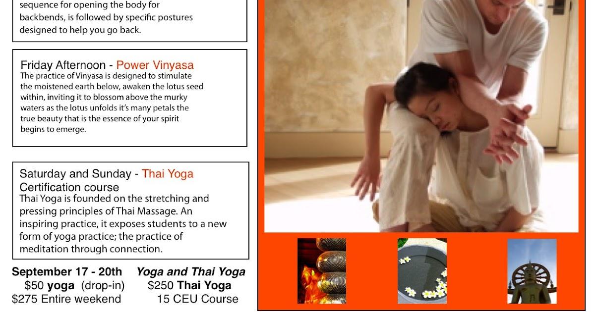 Guam Vegan Thai Yoga Classes Coming To Guam