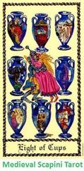 8 de Copas Medieval Scapini