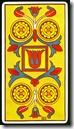 4 de Ouros do Marseilles Fournier - Fonte Taroteca