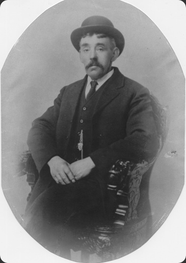 My maternal grandad, Thomas Waterworth.  I never knew him, he died when my mother was only a little girl.