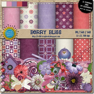 Preview for Berry Bliss - Let Me Scrapbook